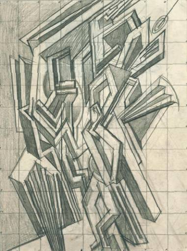 Study for Two Step, 1915