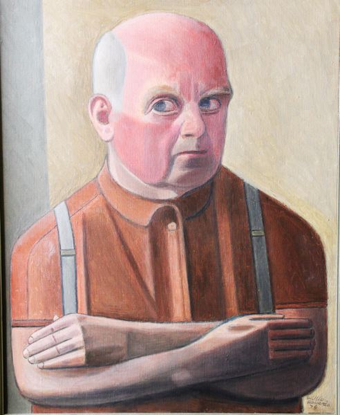 Self-portrait with Arms Folded
