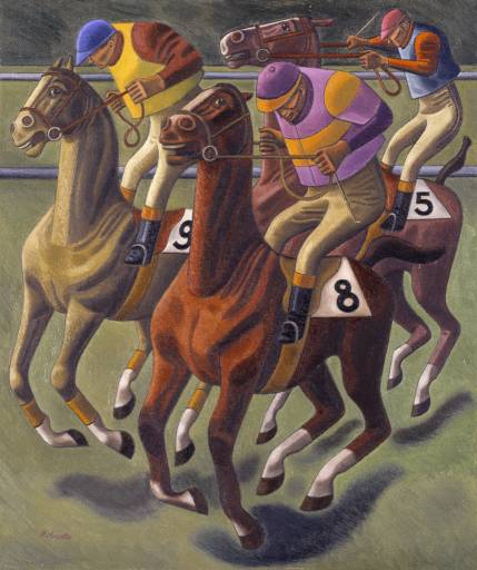 Cantering to the Post, 1949