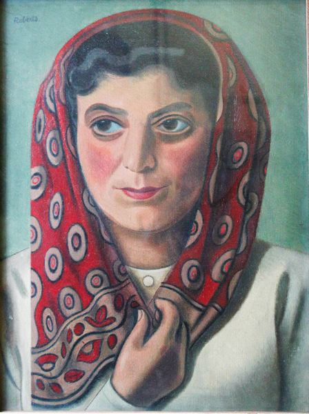 Sarah with Headscarf, c.1935