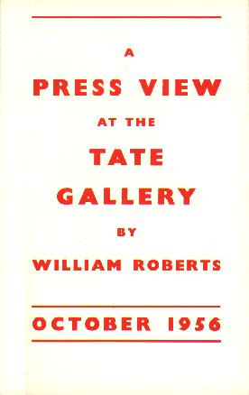 A Press View at the Tate