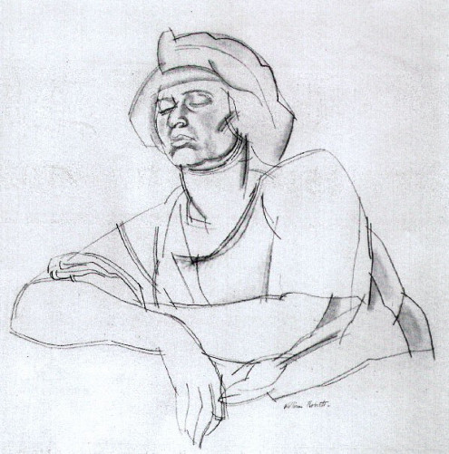 Seated Woman, 1920)